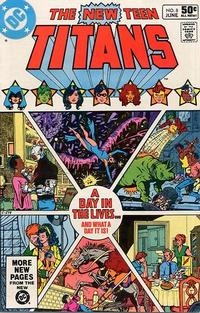Cover Thumbnail for The New Teen Titans (DC, 1980 series) #8 [Direct]