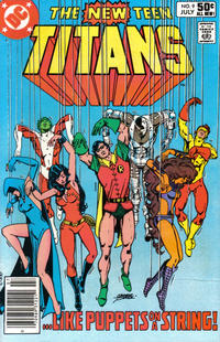 Cover Thumbnail for The New Teen Titans (DC, 1980 series) #9 [Newsstand]