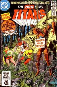 Cover Thumbnail for The New Teen Titans (DC, 1980 series) #13 [Direct]