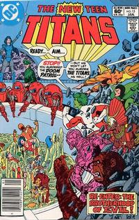 Cover Thumbnail for The New Teen Titans (DC, 1980 series) #15 [Newsstand]