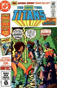 Cover Thumbnail for The New Teen Titans (DC, 1980 series) #16 [Direct Sales]