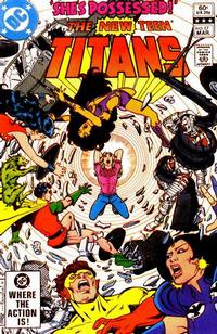 Cover Thumbnail for The New Teen Titans (DC, 1980 series) #17 [Direct]