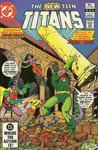 Cover Thumbnail for The New Teen Titans (DC, 1980 series) #18 [Direct]