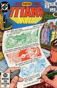 Cover Thumbnail for The New Teen Titans (DC, 1980 series) #20 [Direct]