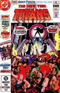 Cover Thumbnail for The New Teen Titans (DC, 1980 series) #21 [Direct Sales]