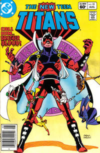 Cover Thumbnail for The New Teen Titans (DC, 1980 series) #22 [Newsstand]