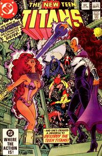 Cover Thumbnail for The New Teen Titans (DC, 1980 series) #23 [Direct Sales]