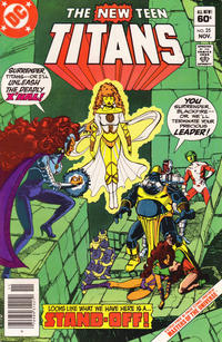Cover Thumbnail for The New Teen Titans (DC, 1980 series) #25 [Newsstand]