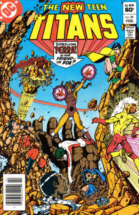 Cover Thumbnail for The New Teen Titans (DC, 1980 series) #28 [Newsstand]