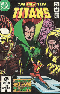 Cover Thumbnail for The New Teen Titans (DC, 1980 series) #29 [Direct-Sales]