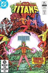 Cover Thumbnail for The New Teen Titans (DC, 1980 series) #30 [Direct-Sales]
