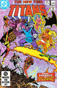 Cover for The New Teen Titans (DC, 1980 series) #32 [Direct-Sales]