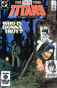 Cover Thumbnail for The New Teen Titans (DC, 1980 series) #38 [Direct]
