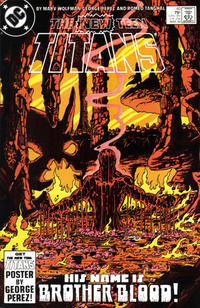 Cover Thumbnail for The New Teen Titans (DC, 1980 series) #40 [Direct]