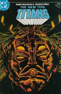Cover Thumbnail for The New Teen Titans (DC, 1984 series) #5