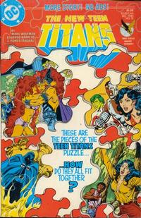 Cover Thumbnail for The New Teen Titans (DC, 1984 series) #15