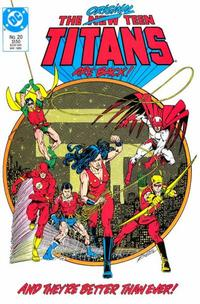 Cover Thumbnail for The New Teen Titans (DC, 1984 series) #20