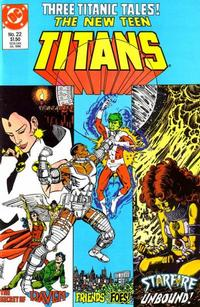 Cover Thumbnail for The New Teen Titans (DC, 1984 series) #22