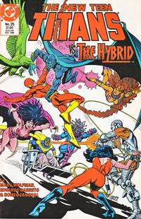 Cover Thumbnail for The New Teen Titans (DC, 1984 series) #25