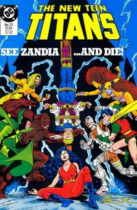 Cover Thumbnail for The New Teen Titans (DC, 1984 series) #27