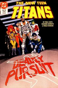 Cover Thumbnail for The New Teen Titans (DC, 1984 series) #32