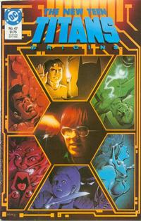 Cover Thumbnail for The New Teen Titans (DC, 1984 series) #47
