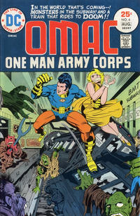 Cover Thumbnail for OMAC (DC, 1974 series) #6