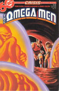 Cover Thumbnail for The Omega Men (DC, 1983 series) #31