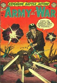 Cover Thumbnail for Our Army at War (DC, 1952 series) #1
