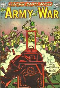 Cover Thumbnail for Our Army at War (DC, 1952 series) #2