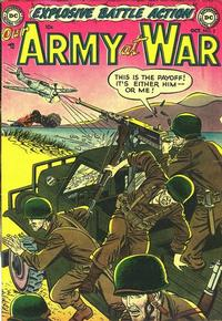 Cover Thumbnail for Our Army at War (DC, 1952 series) #3