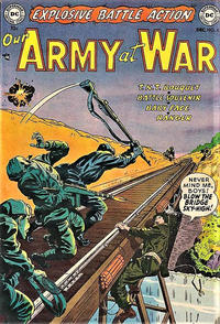 Cover Thumbnail for Our Army at War (DC, 1952 series) #5