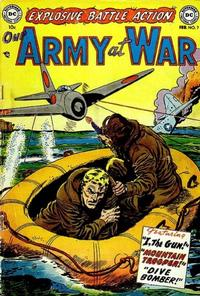 Cover Thumbnail for Our Army at War (DC, 1952 series) #7
