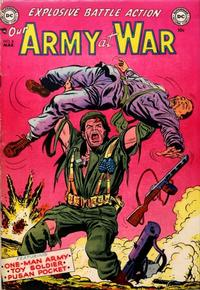 Cover Thumbnail for Our Army at War (DC, 1952 series) #8