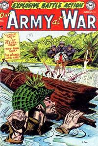 Cover Thumbnail for Our Army at War (DC, 1952 series) #23
