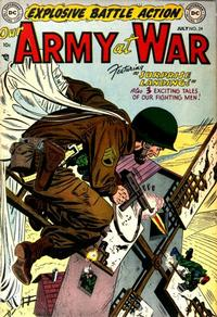 Cover Thumbnail for Our Army at War (DC, 1952 series) #24