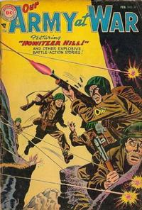 Cover Thumbnail for Our Army at War (DC, 1952 series) #31