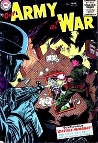 Cover Thumbnail for Our Army at War (DC, 1952 series) #32