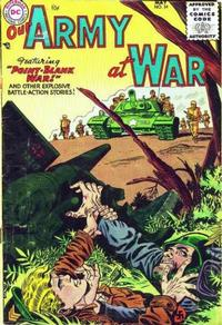 Cover Thumbnail for Our Army at War (DC, 1952 series) #34
