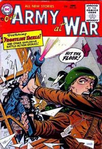 Cover Thumbnail for Our Army at War (DC, 1952 series) #35