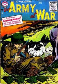 Cover Thumbnail for Our Army at War (DC, 1952 series) #36