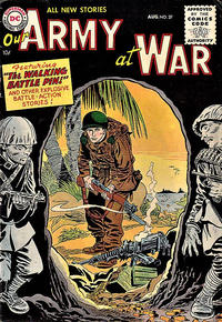 Cover Thumbnail for Our Army at War (DC, 1952 series) #37