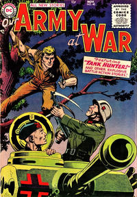 Cover Thumbnail for Our Army at War (DC, 1952 series) #40