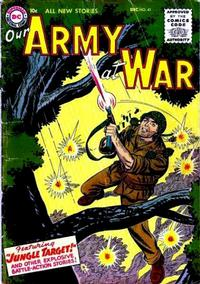 Cover Thumbnail for Our Army at War (DC, 1952 series) #41