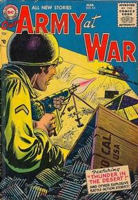 Cover Thumbnail for Our Army at War (DC, 1952 series) #44