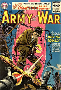 Cover Thumbnail for Our Army at War (DC, 1952 series) #50