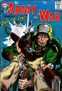 Cover Thumbnail for Our Army at War (DC, 1952 series) #68