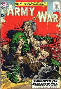 Cover Thumbnail for Our Army at War (DC, 1952 series) #84