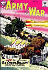 Cover Thumbnail for Our Army at War (DC, 1952 series) #85