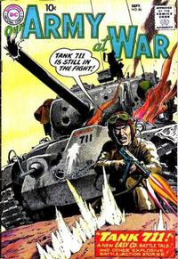Cover Thumbnail for Our Army at War (DC, 1952 series) #86